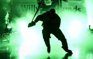 Bild från när Tingsryd kommer in på isen i en match förra säsongen.
