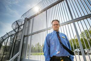 Henrik Holmgren är kriminalvårdsinspektör på anstalten i Gävle
