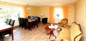 Salongen ska kunna användas av gästerna. Men ska också kunna hyras ut till slutna sällskap.