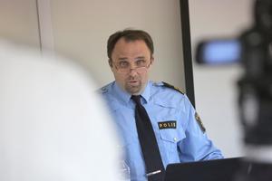 Polisområdeschef för Dalarna: Peter Karlsson. Foto: Arkiv