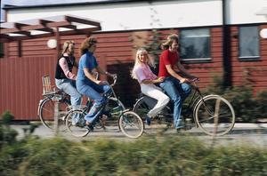 Från rampljuset till vardagen i Vallentuna. Under en period bodde de fyra Abba-medlemmarna bara några minuter från varandra i Vallentuna, utanför Stockholm.    Foto: Wolfgang