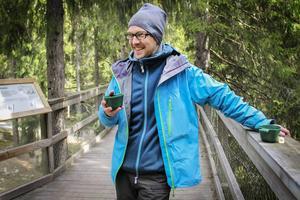 Jens Larsson, vd på Järvzoo, är positiv till studien som genomförs i djurparken.