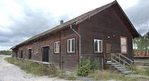 Godsmagasinet i Kilafors har de senaste årtiondena i huvudsak fungerat som förråd.