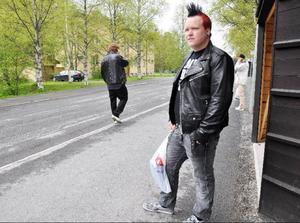 Oskar Sjölander, från Mörsil, gjorde det bästa av situationen och bytte när första gymnasievalet blev en stor besvikelse. Han gick från medieprogrammet till barn och fritid, två program som snart inte finns längre på Åre gymnasieskola.Foto: Elisabet Rydell-Janson