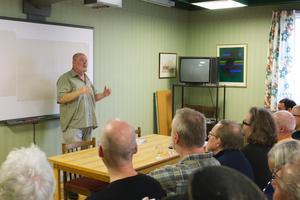 Ölvänner kunde lyssna på Jan-Erik Svenssons föreläsning om öl från Franken i Bayern. Franken var temat för årets festival. I området har ett av det mest ursprungliga lagerölet överlevt.