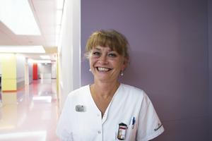 Vårdenhetschefen Maria Furberg gläds hon åt att kunna börja ta emot patienter och ge dem den nya strålbehandlingen.