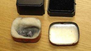 Polisen hittade stenar som stals från ett inbrott i Falun i lägenheten i Krylbo.