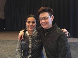 Caroline Wenedikter och Jeanette Chrisander
