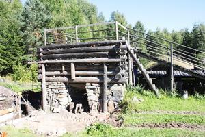 Masugnen vid Nya Lapphyttan i Norberg.