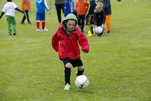 Fotboll var ett populärt val av idrott.