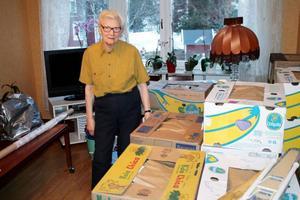 Inger Degerstedt blev sjuk av luften i sin lägenhet. Nu har hon flyttat från Hammarstrand.