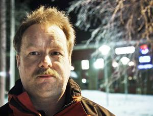 Ronny Karlsson, distriktsordförande för Sverigedemokraterna i Jämtlands län.
