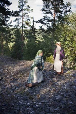 Kvinnorna vid vasken: Lotta Sjödin och Anna Källman