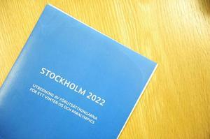Utredningen som SOK, RF och SHIF låtit ta fram, författad av konsulten Jöran Hägglund.