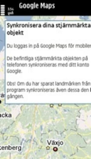 Nya Google Maps lagrar favoritplatser på nätet