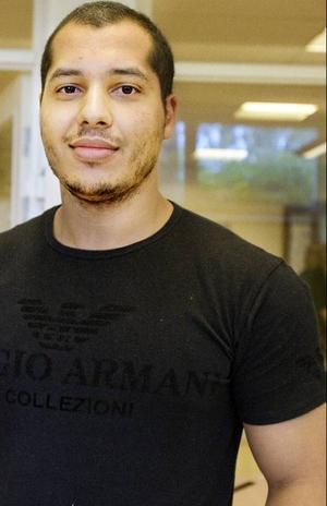 2000 elever beräknas studera på vuxenutbildningen i Östersund i år. En av dem är Kaiser Ghadbani.