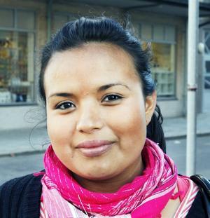 Xiomara Campos, 23 år, ekonomibiträde, Andersberg.– Jag tror att många som velat men inte har vågat rösta på dem förut gör det nu när de har blivit större och syns mer.