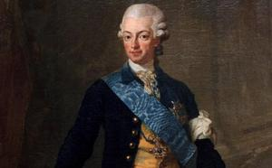 Gustav III, målning.