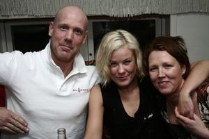 Å. David, Madeleine och Marita.
