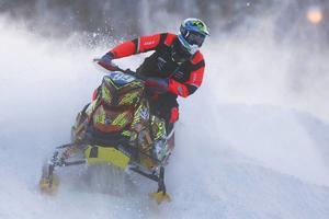 Johan Eriksson var med och tävlade i årets Arctic Cat Cup. FOTO: patrik Sjödin