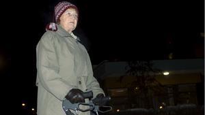 Lea Westberg är fundersam över hur NVK:s försäkringsbolag (Trygg-Hansa) kan dra slutsatsen att det inte var halt i Fagersta då deras undersökning gjordes utifrån en väderprognos i Sala.