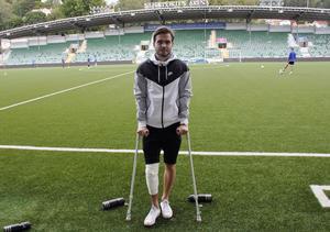Kristinn Steindórsson fick knät opererat i torsdags.