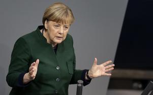 Förbundskansler Angela Merkel ställer upp till omval.