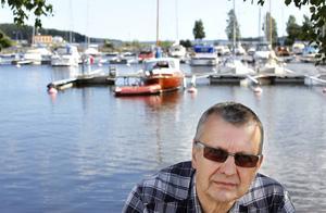 Jan Lindberg från Sundsvalls båtsällskap efterlyser mer engagemang.