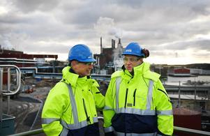 Göran Starck och Anders Olsson tror på en bättre framtid.