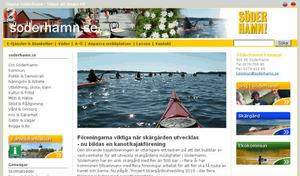 På Söderhamns kommuns hemsida fanns ingen information om att det inte gick att ringa genom kommunens växel.