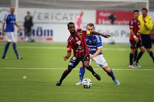 Ammar Ahmed gjorde sin kanske bästa match för i år för ÖFK.