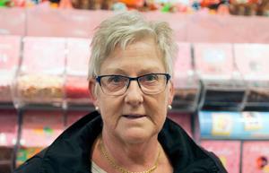 Agnetha Berglud, 60, Västerås: - De små påsarna är fina och ser mer ut som godispåsar ska göra. Det tycker jag i alla fall.