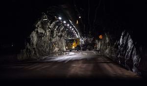 LKAB:s gruva i Kiruna är  världens största underjordsgruva för järnmalm.