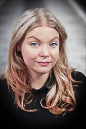 Katarina Widegren har sin ateljé i centrala Östersund.