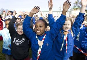 Mötesplats. Världsscoutmötet samlar deltagare från hela världen. Bilden är från ett tidigare stort scoutmöte i Sverige.foto: scanpix