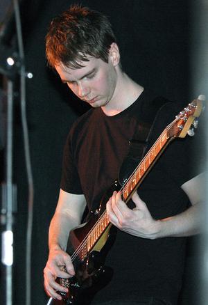 Anton Näslund hette en av de duktiga gitarristerna.