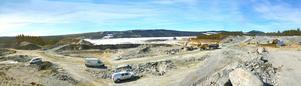 Den största åtgärden sedan dammen byggdes för dryga 50 år sedan pågår vid Lossen