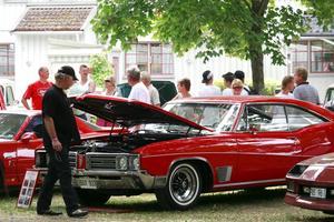 American car show, Societetsparken Norrtälje, lördagen den 17 juli 2010.