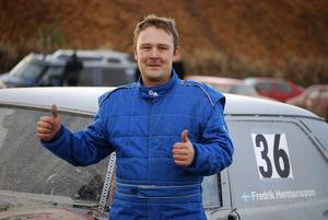 Fredrik Hermansson segrade i X-cupens avslutning i Ljusdal. Totalt slutar han på andra plats i cupen.
