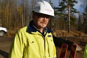 Bengt Lundkvist, projektledare vid Ellvio.