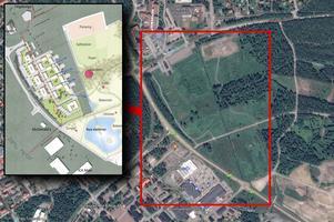 Området som planerna innefattar.