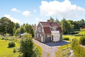 Friliggande villa, Grängesberg.