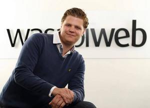 Andreas Glimbrant driver sedan 2012 den Uppsalabaserade webbyrån Wasabi Web.