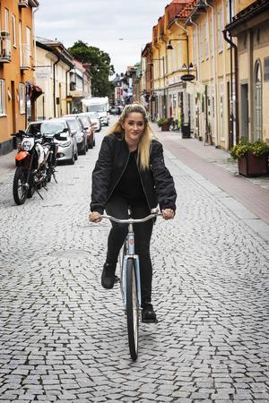 Smart Farts första kund, Sofia Wiren från Stockholm.
