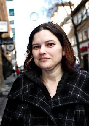 Cecilia Hagvall:– Nej, jag är gravid.