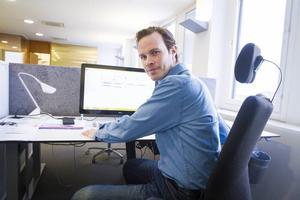 I dag jobbar Robert Carlsson med miljösamordning på Norrporten.