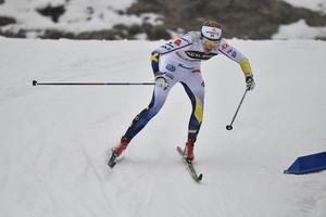 Stina Nilsson är en av de skidstjärnor som kommer att träna i Åre och Vålådalen de kommande dagarna.
