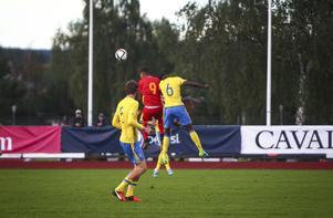 Sverige föll med 0–1.