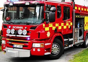 Räddningstjänsten Dala Mitt fick rycka ut till en rökfylld villa i Idkerberget under tisdagskvällen.  Arkivbild.