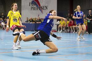 Vass. Lina A Karlsson gjorde en bra insats. FOTO: Rune Jensen